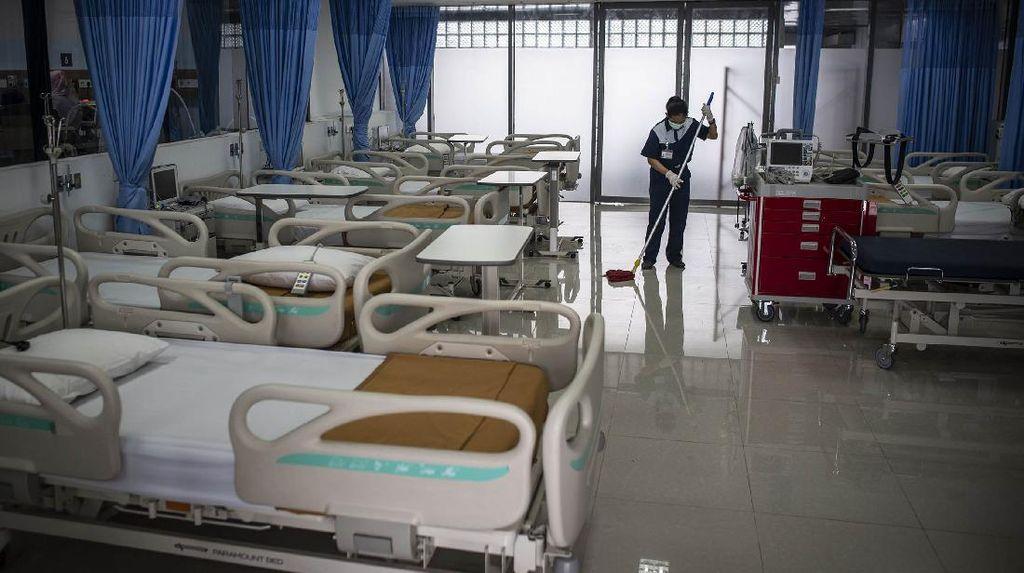 Kondisi 140 RS Rujukan COVID-19 di DKI Terbaru: BOR Isolasi 6%, ICU 19%