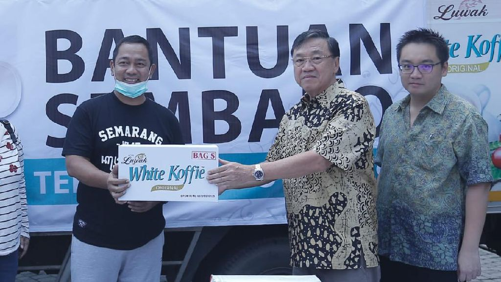 Tangani Corona, Pemkot Semarang Dapat Bantuan dari Perusahaan Kopi Luwak