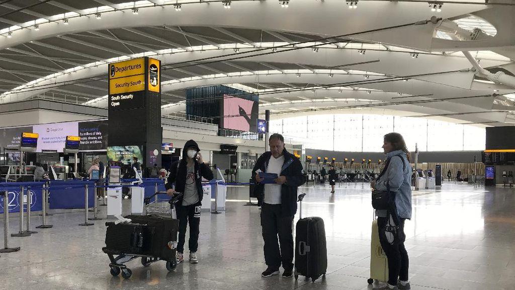 Inggris Masukkan AS ke Daftar Merah Corona, Wajib Karantina Saat Tiba