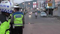 Bukan Tutup Jalan, Polda Gorontalo Imbau Warga soal PSBB