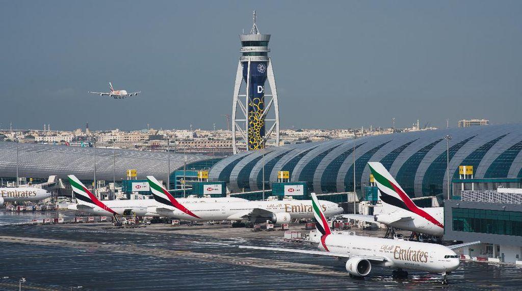 Jumlah Penumpang di Bandara Dubai Berangsur Naik