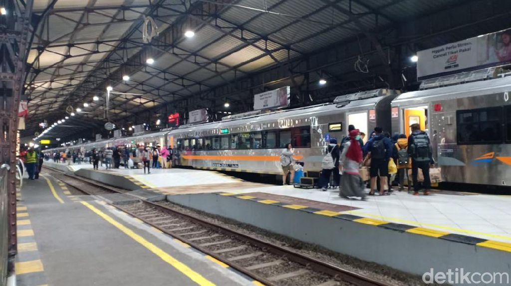 18 Ribu Penumpang KA dari Wilayah Daop Purwokerto Batalkan Tiketnya