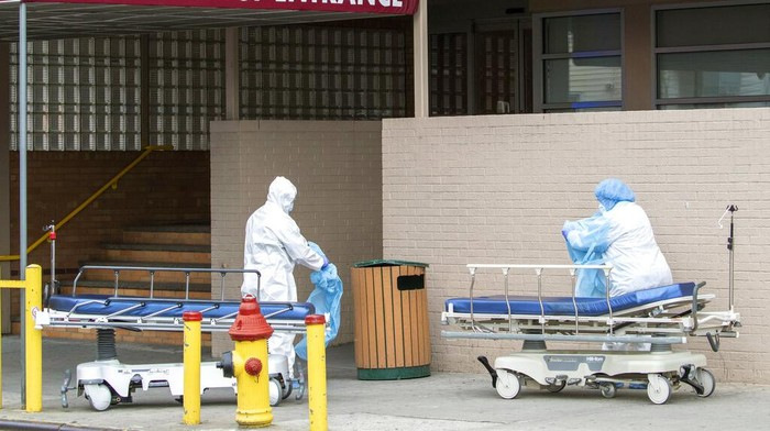 Amerika Serikat mencatat 1.169 kematian pasien COVID-19 dalam waktu 24 jam terakhir sejak pandemi corona dimulai.