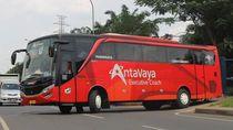 AntaVaya Transportation Bantu Pemerintah Siapkan Bus untuk Tenaga Medis