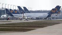 Potret Bandara-bandara Dunia yang Sedang Hibernasi