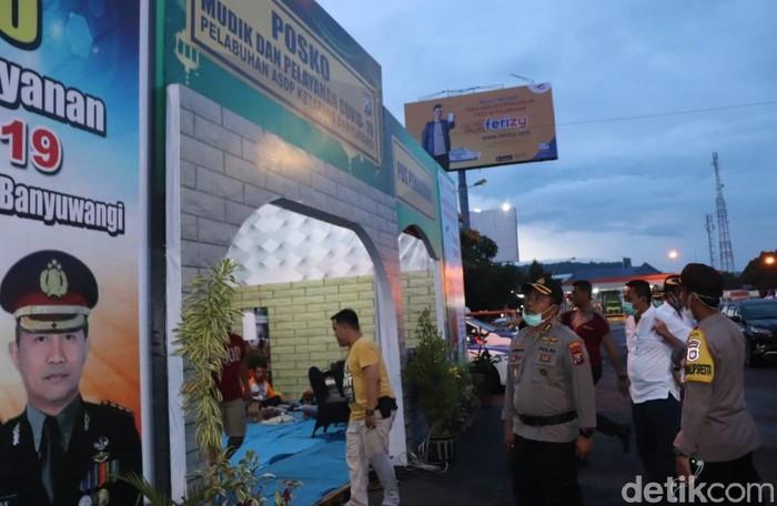 Polresta Banyuwangi Bangun Posko Siaga Covid-19