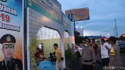 Polisi Banyuwangi Bangun Posko Siaga Corona di Fasilitas Publik