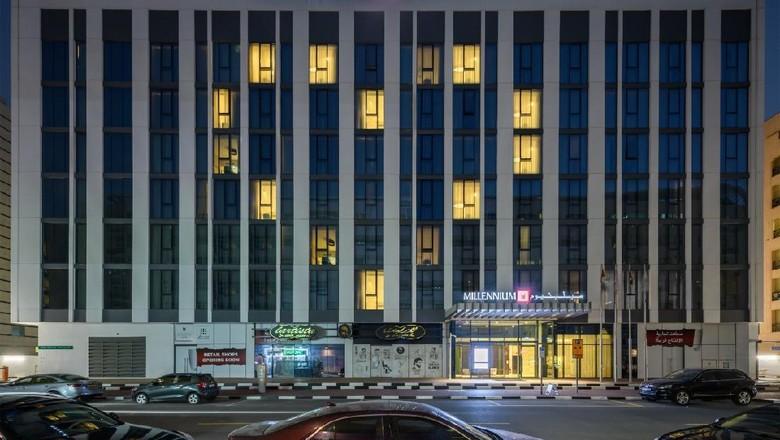 Hotel-hotel Dubai berikan tanda cinta ditengah pandemi Corona.