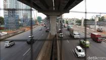 Volume Kendaraan Di Tol Jakarta Cikampek Menurun