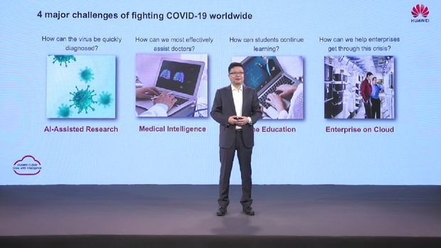 President of Huawei Cloud Global Market, Deng Tao