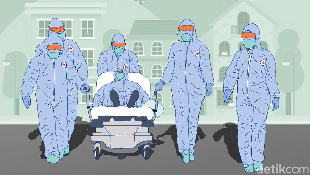Ratusan Warga Pamekasan Adang Ambulans Bawa Jenazah COVID-19