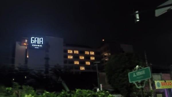 Tak hanya di Dubai, sejumlah hotel Indonesia di Yogyakarta pun ikut menunjukkan solidaritas melawan corona dengan cara yang sama (dok Indonesia Hotel General Manager Association (IHGMA) DPD Yogyakarta)
