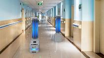 LIPI dan Tel-U Bikin Robot Disinfektan, Begini Penampakannya