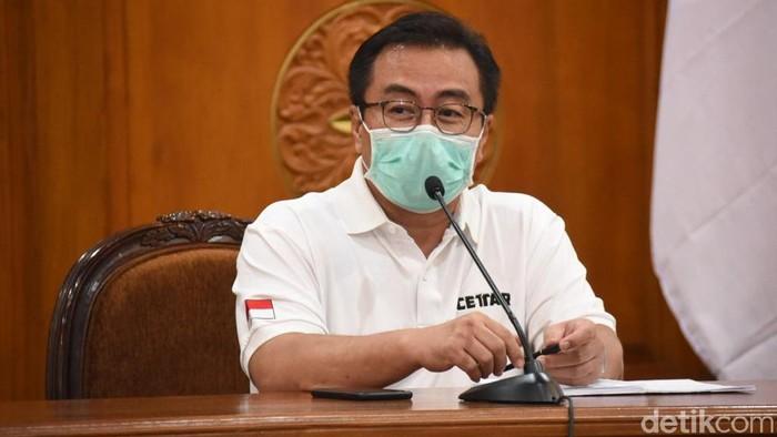 Ketua Satgas Kuratif Penanganan Covid-19 Jawa Timur, dr Joni Wahyuhadi