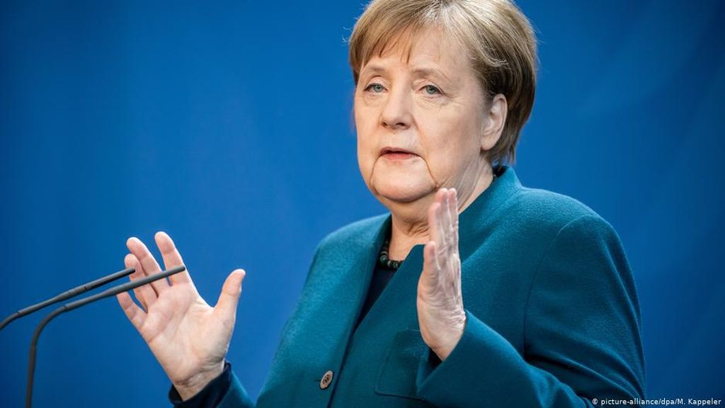 Kanselir Jerman: Ada Harapan, Tapi Tidak Cabut Batasan Keluar Rumah
