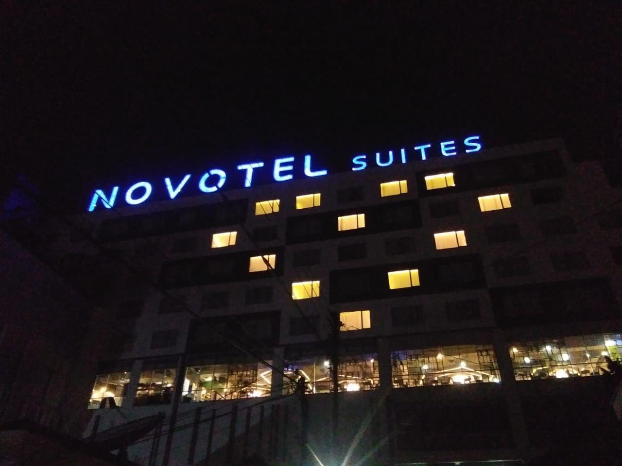 Lambang Hati dari Hotel di Yogyakarta