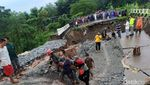 Potret Jembatan Ambruk di Purwakarta yang Tewaskan 1 Orang