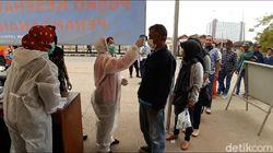 Posko Skrining Jatinangor Mencatat Ratusan Orang Hari Ini Mudik ke Sumedang