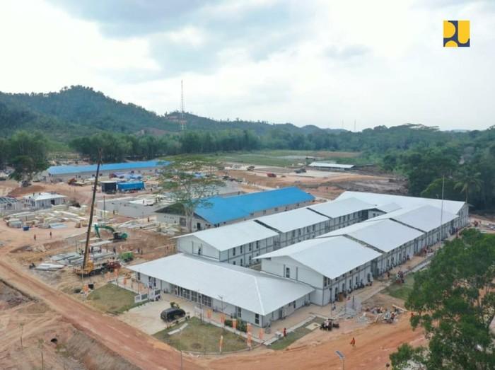Penampakan RS Corona di Pulau Galang-Batam