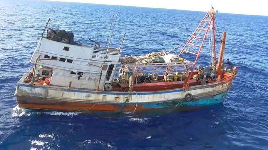 2 Kapal Asing Ilegal Vietnam Ditangkap di Laut Natuna Utara
