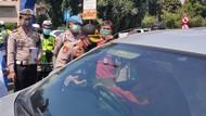 Cegah Penyebaran Corona, Forkopimda Bogor Sosialisasi Simpatik di Jalur Puncak
