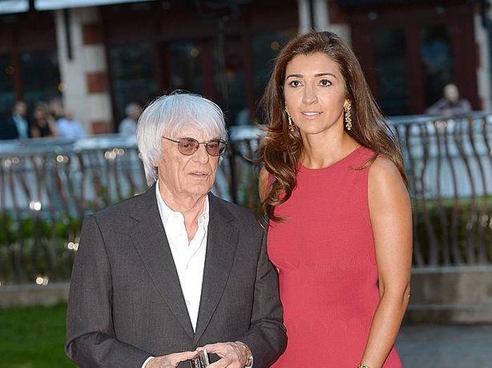 Fabiana Flosi,  Bernie Ecclestone