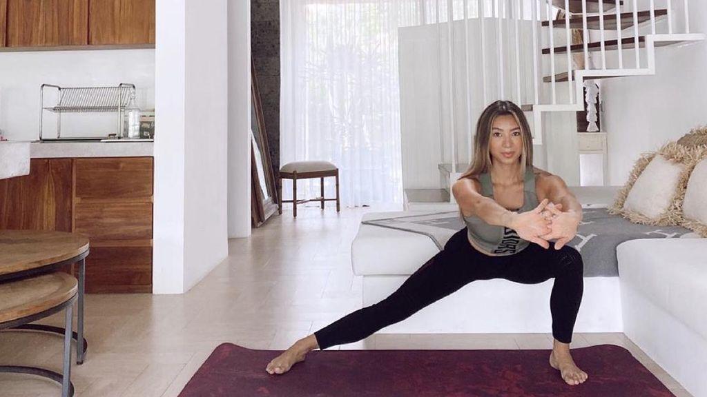 Intip Olahraga Kece Ala Jennifer Bachdim Saat Physical Distancing