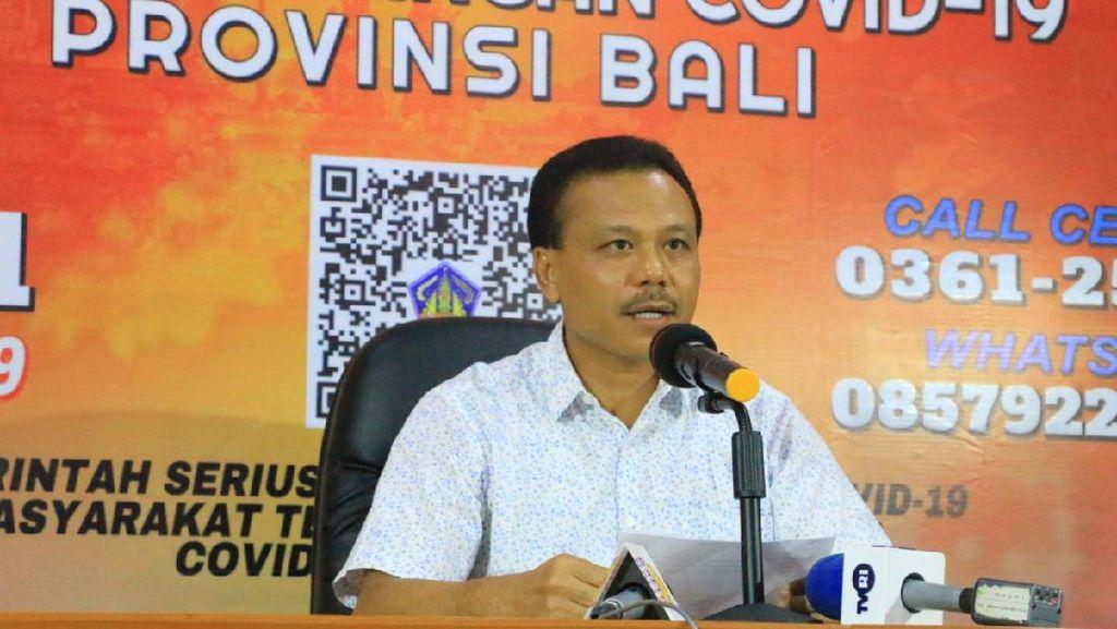 Pemprov Bali Umumkan 5 Kasus Baru Positif Corona, Semuanya Imported Case