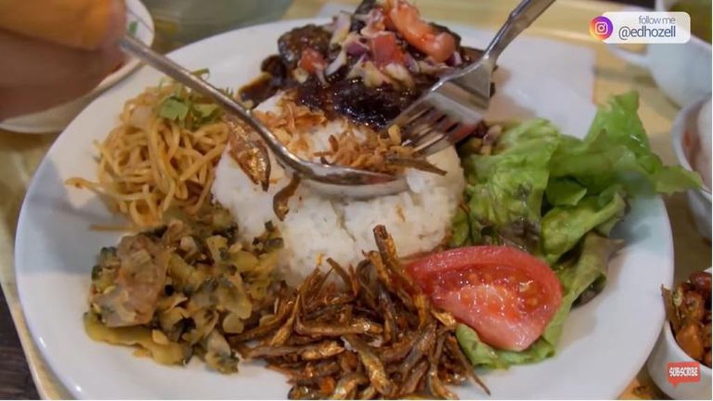 Bangga! Nasi Rames ala Warteg Bisa Dicicipi di Jepang