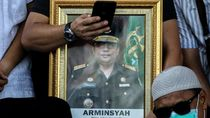 Wakil Jaksa Agung Arminsyah Dimakamkan