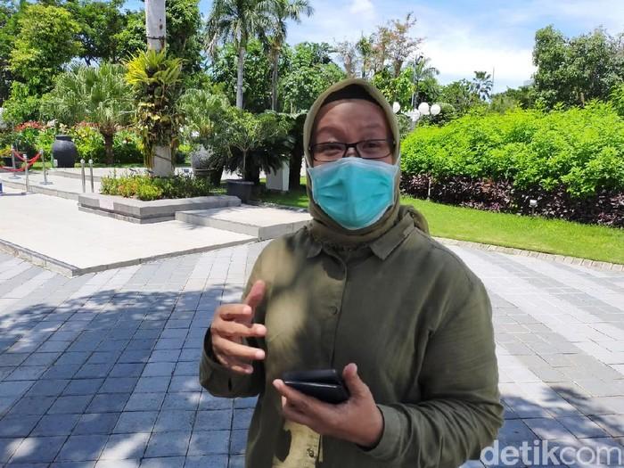 Koordinator Protokol Kesehatan Gugus Tugas Percepatan Penanganan Covid-19 Surabaya Febria Rachmanita