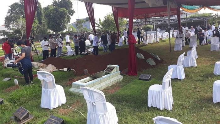 Pemakaman Wakil Jaksa Agung Arminsyah (Dok. Kejagung)