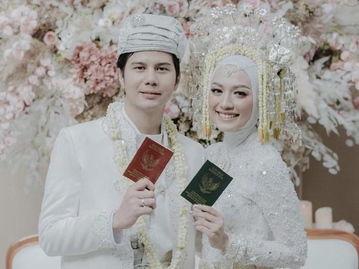 Mega Iskanti menikah dengan Muhammad Najauta