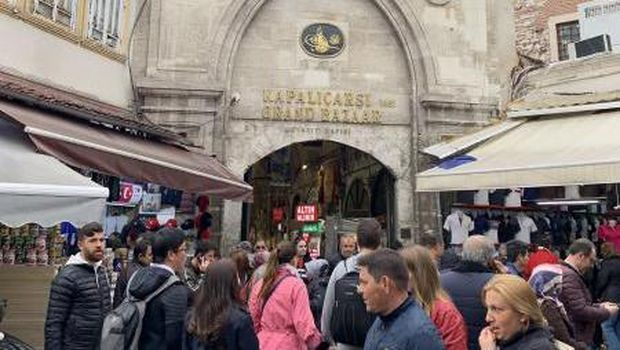 Grand Bazaar di Turki.