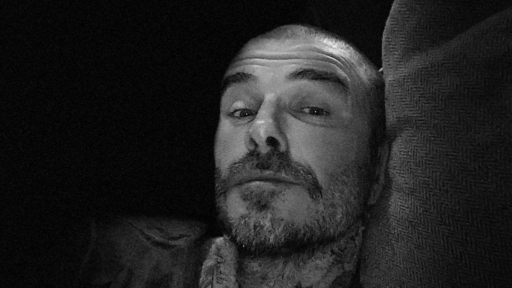 David Beckham Pamer Gaya Rambut Baru, Kini Botak