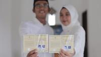 Cerita Perenang Nasional Menikah di Tengah Wabah Virus Corona