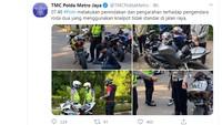 Di Tengah Pandemi Corona, Polisi Razia Bikers Berknalpot Racing