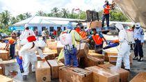 Dinkes Kaltim Terima Bantuan 4.000 APD dan 20 Ribu Masker
