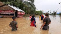Banjir di Agam Sumbar, 30 KK Dievakuasi