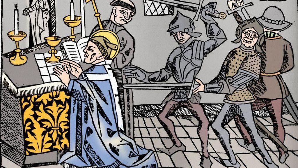 Jejak Polusi Timah di Es Alpen Ungkap Pembunuhan Uskup Agung Inggris