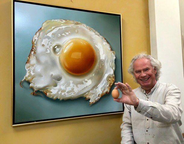 seniman telur