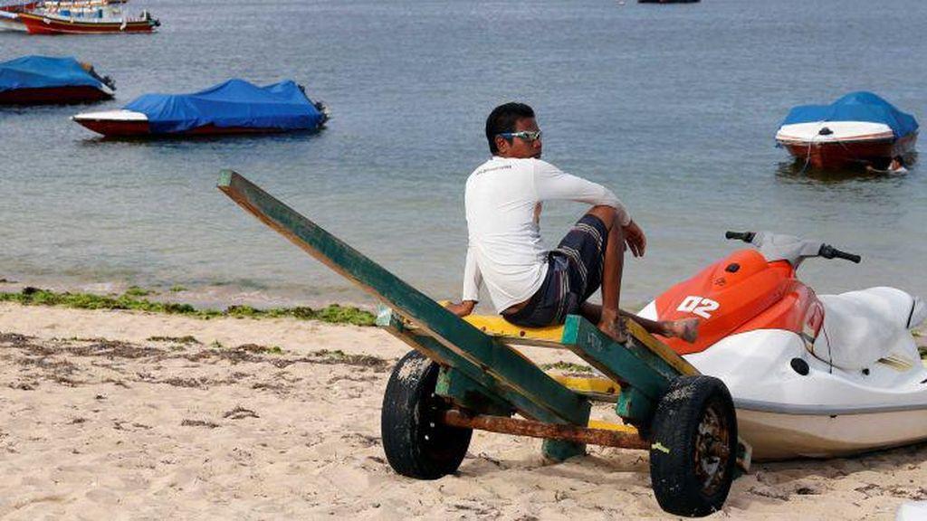 Pantai Kosong dan Jalanan Sepi, Kondisi Bali Setelah Ditinggal Turis Asing