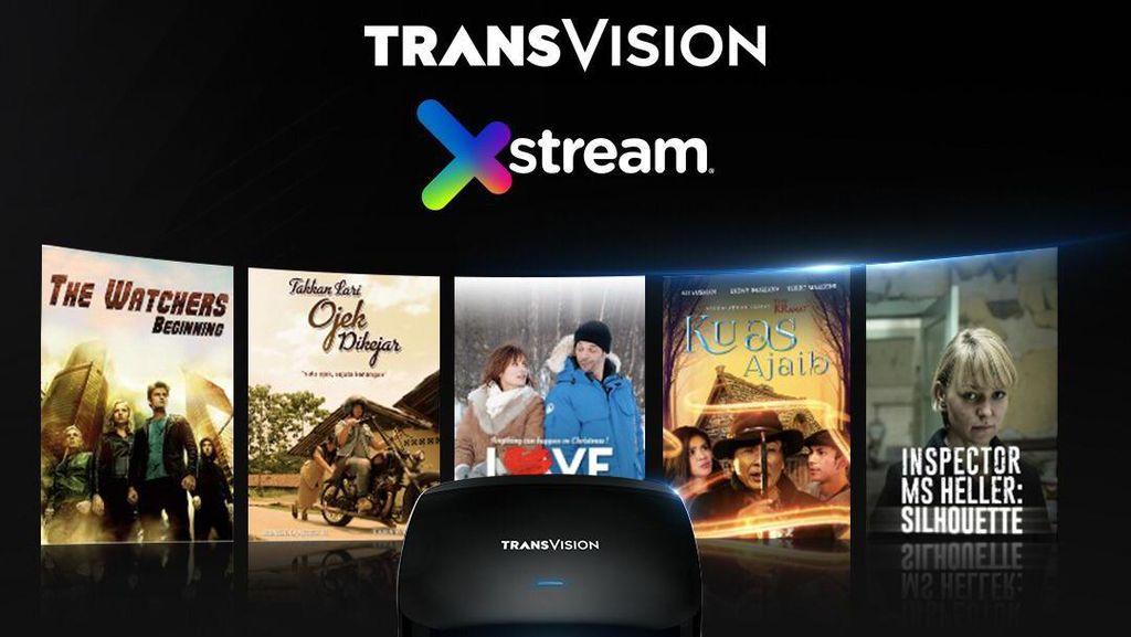 Biar Betah di Rumah, Transvision Tawarkan Bundling Internet & TV Kabel