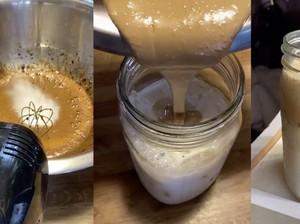 Mirisnya Pasangan Makan Nasi Pakai Gula dan Penyebab Dalgona Coffee Gagal