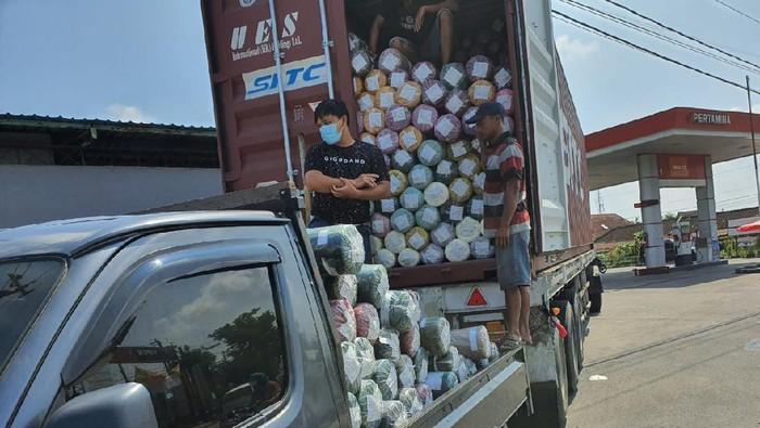 Penyelundupan kain impor senilai Rp 1 M ke Klaten digagalkan