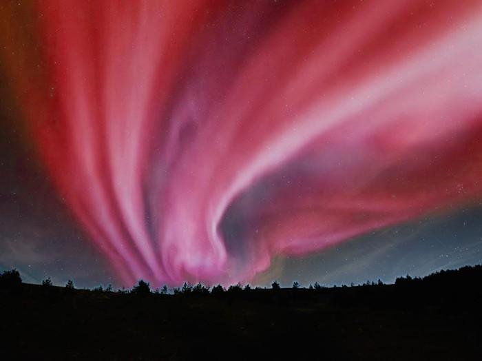 fenomena langit merah di jepang