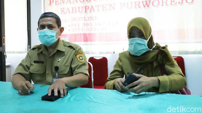 juru bicara Pemerintah Kabupaten Purworejo dalam penanganan Covid-19, dr Darus, Senin (6/4/2020).