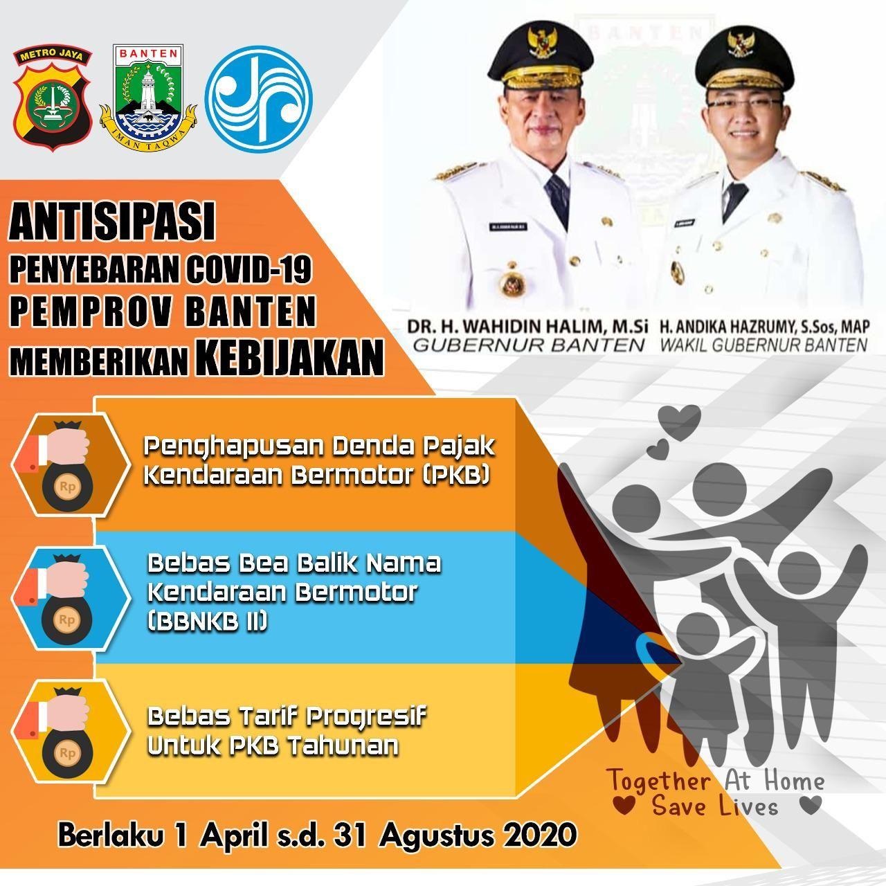 Pemutihan pajak kendaraan di Banten akibat pandemi corona