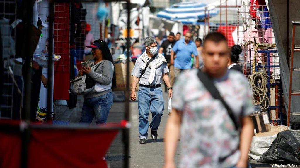 Meksiko Catat Rekor Kasus Harian, Sehari Ada 2.409 Orang Positif Corona