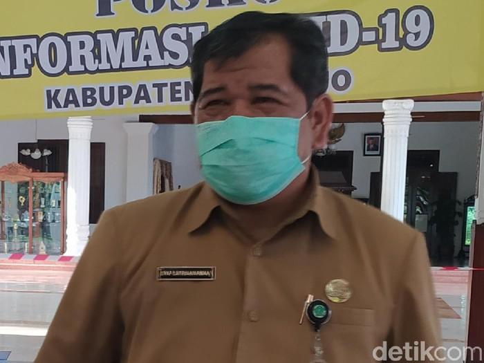 Kepala Dinas Kesehatan Sidoarjo Syaf Satriawarman